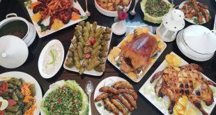 سفرة اول يوم رمضان واجمل عزومه - YouTube