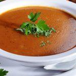 طريقة عمل شوربة الشوفان الحمراء بالصور | حساء الشوفان الأحمر | أطيب طبخة