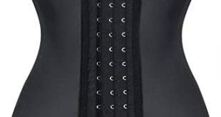 "مشد خصر مطاطي للنساء من إيفربيلوس - L/ Fit Natural Waist 30""-31.5"" اسود:  Amazon.ae"