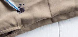 كيف ازيل الحبر من الملابس