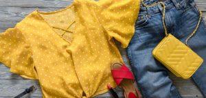 تنسيق الوان الملابس