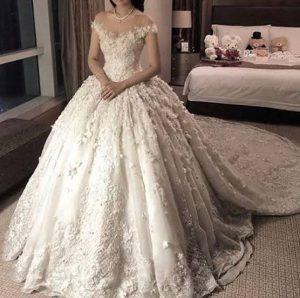 صورة جبت صوره فستان الزفاف شوفوها وقولو رايكم